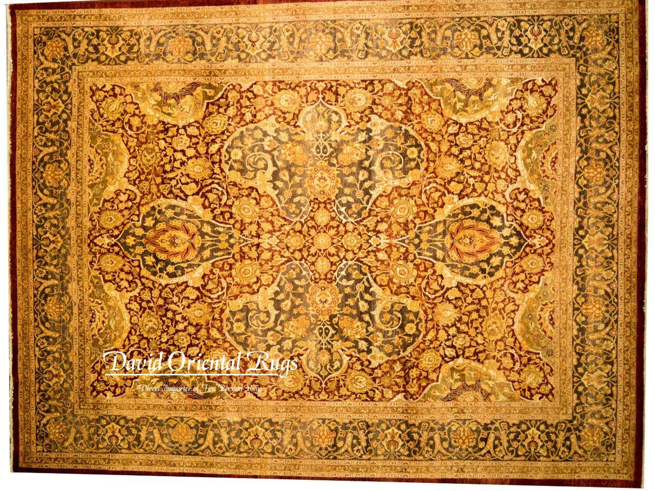 8×10 Tabriz Rug 84P2-14060