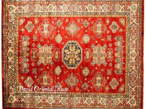 8×10 Kazak Rug 84P6-16089