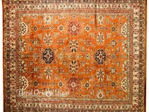 8×10 Kazak Rug 84P6-16091
