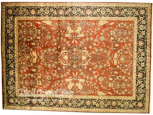 9×12 Sarouk Rug 94N1-14123