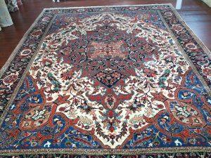 13.7 x 19.1 Persian Serapi L7-2064